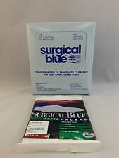 "SURGICAL BLUE Tack Cloth Set of 12 18"" X 36"" For Primers and Top Coats Free Ship"