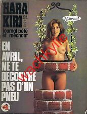 Hara Kiri n°175 du 04/1976 Avril
