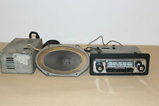 European Classic car tube radio for Jaguar, Porsche, VW, MG Triumph etc.