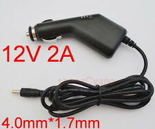 12V 1.5A/ 2A car charger Power adapter Cigarette Lighter DC 4.0mm × 1.7mm 2000mA