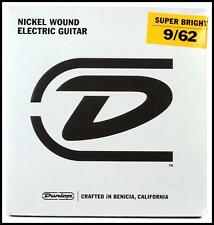 Dunlop Super Bright Electric Guitar Strings - .009-.062, Hybrid 7-String Set