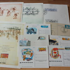 Olympiade 1984,1980 Olympic Games - LOT Belege/Covers