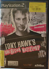 Tony Hawk's American Wasteland Sony PlayStation 2 USED ACCEPTABLE w/case