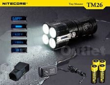 NiteCore TM26 XM-L2 4000 Lumen Brightest Portable Rechargable Marine Searchlight
