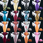 2016 Hot New Silk Tie Sets Solid Paisleys Red Black Wedding Jacquard Woven Ties