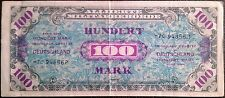 Germany reichbanknote - 100 hundert mark - year 1944 - Allied Military Currency