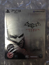 BRAND NEW FACTORY SEALED BATMAN ARKHAM CITY STEELBOOK PS3 SONY PLAYSTATION 3