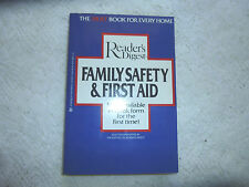 Reader's Digest Family Safety & First Aid  Paperback  1984  English