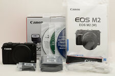 Brand New Canon EOS M2 18.0 MP Digital Camera - Black Body [Never used](88-B70)