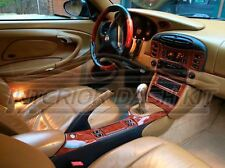 PORSCHE 911 996 CARRERA TURBO INTERIOR BURL WOOD DASH TRIM KIT SET 99 2000 2001
