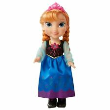 DISNEY Canto's Frozen Anna Toddler bambola-Collana magicamente si illumina-NUOVO