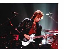 BON JOVI RICHIE SAMBORA SIGNED PLAYING GUITAR 8X10