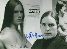 "Joe Dallesandro ""Trash"" signed 8x11 inch photo autograph"