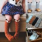 Anti-slip Baby Toddlers Kids Fox Knee High Socks Tights Hosiery Stockings HQ