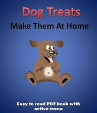 190 Homemade Dog Treat & Biscuit Recipes PDF eBook 1 CD