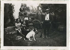PHOTO ANCIENNE - VINTAGE SNAPSHOT - CHASSEUR CHASSE CHIEN ALAMBIC - HUNTER DOG