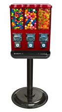 Triple Time Candy Vending Machine - RED