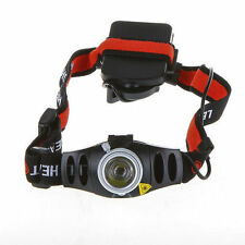◄★LINTERNA LED DE CABEZA  ★FRONT HEADLAMP LENSER TORCH ADJUSTABLE H7 REGULABLE★