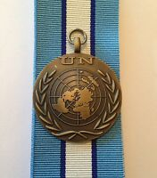UN Cyprus Full Size Medal, Loose, Court or Swing Mounted Option, United Nations