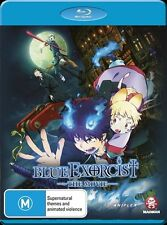 Blue Exorcist the Movie Blu-ray Discs NEW