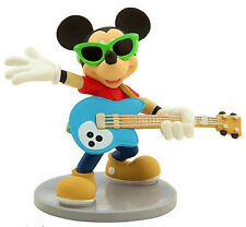 *ROCKSTAR MICKEY MOUSE Disney CLUBHOUSE TV PVC TOY Figure CAKE TOPPER FIGURINE!*