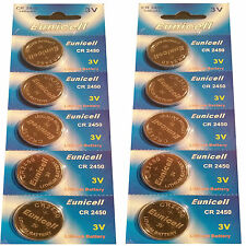 10 x CR2354 3V Lithium Batterie ohne Vertiefungsrille  Eunicell