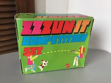 Vintage 1970# Mattel ZZZOOM IT  COMPETITION  SET Launcher Space Ray Gun#NIB