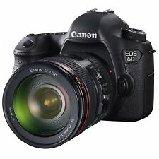 Canon EOS 6D with EF 24-105mm F4L IS USM Lens