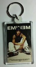 AS-IS EMINEM SITTING IN TENNIS SHOES BLACK TANK & NIKE HAT KEY CHAIN KEYCHAIN