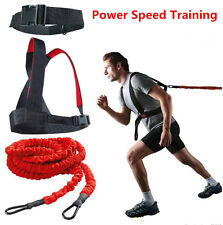 23ft Lightning Cord Dual Resistance Bungee Band Trainer Power Speed Training HVY