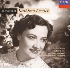 KATHLEEN FERRIER - The World Of Kathleen Ferrier (West German 19 Tk CD Album)