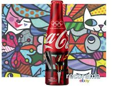 2016 RIO OLYMPICS GAMES  L.E. COCA-COLA BOTTLE BY ROMERO BRITTO ** NEW **