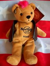 HRC Hard Rock Cafe Rom Rome Roma Punk Bear Mohawk 2010 Pink Hair Herrington
