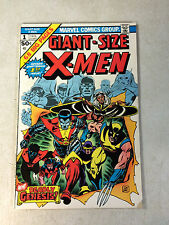 GIANT SIZE X-MEN #1 SUPER KEY ISSUE, 1ST NEW TEAM, 2ND WOLVERINE, 1975, COCKRUM