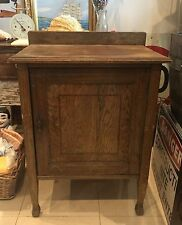 VINTAGE ANTIQUE 1920's ARTS & CRAFTS OAK POT CUPBOARD. MAKE GREAT BEDSIDE TABLE.