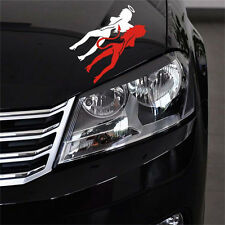 Angle& Evil Girl Auto Car Truck Vinyl Decor Graphics Removable Art Decal Sticker
