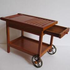 Dollhouse Empty Serving Cart 18229 Reutter Barbecue BBQ Miniature gemjane