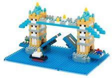 NEW NANOBLOCK TOWER BRIDGE Nano Block Micro Sized Building Blocks Kawada NBH-065
