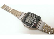 Casio VINTAGE COLLECTION A-V2-N1-T rec voice RARE spy WATCH orologio montre uhr