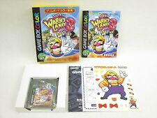 WARIO LAND III 3 Mint Condition Game Boy Color Nintendo Japan Game gb