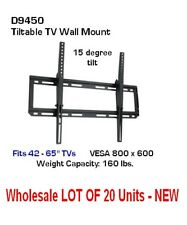 Wholesale Lot of 20 TV Wall Mounts (5 cartons of 4 e.a.) D9450