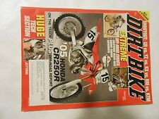 FEBRUARY 2005 DIRT BIKE MAGAZINE,ALL 2 STROKE,CR VS YZ VS KX VS RM VS KTM,AMA