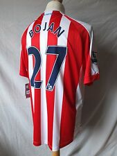 New Stoke City 2014/15 Home Shirt  Bojan 27  Adults Large