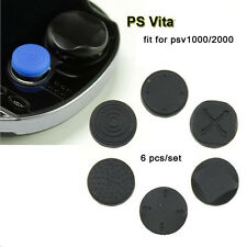 6 pcs Silicone analog thumbstick Cover for PlayStation PS Vita PSV2000 psv1000