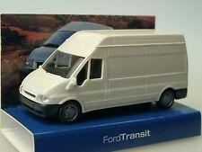 Rietze Ford Transit Kasten Hochdach, weiss  - 1/87 dealer model