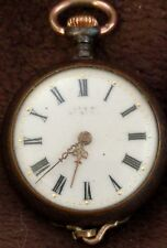 Antique Swiss? Pocket Watch 3/0s parts/repair/Steampunk