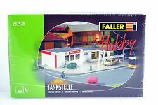 Faller 232528 Gas Station  Building Kit N Scale