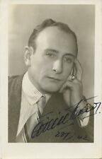 Unknown Celebrity Vintage Signed Photo - 1942