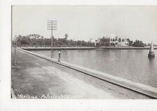 Massaua Palazzo del Governo Eritrea Vintage RP Postcard 417a