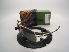 Oakley Limited Edition Yuvraj Singh Plaintiff Gold w/Dark Grey OO4057-12